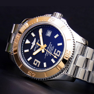 SUPEROCEAN 44 ROSE GOLD BEZEL